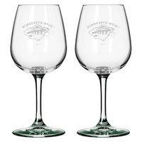 Boelter Brands NHL 2 Pack Minnesota Wild Wine Glass - 12 oz