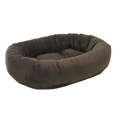 Bowsers Pet Products Bowsers Diamond Series Corduroy Donut Dog Bed Coffee, Size: XXL (55L x 35W x 11H in.)