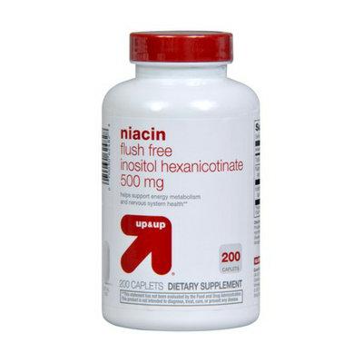 up&up 500mg Flush Free Niacin - 200ct
