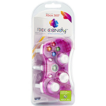 PDP Rock Candy Controller, Pink (Xbox 360)