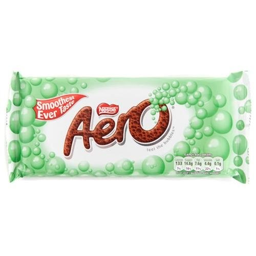 Nestlé Aero Mint Chocolate Bar (46g / 1.6oz)