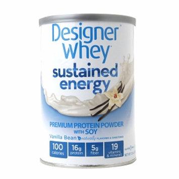 Designer Whey Sustained Energy Vanilla Bean - 12 oz