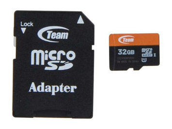Team Group Team 32GB microSDHC UHS-I Flash Card Model TUSDH32GUHS03