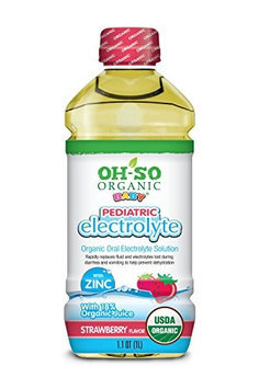 Oh-so Organic Baby PED ELECTROLYTE, OG2, STRW, (Pack of 6)