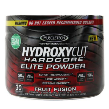 Hydroxycut Hardcore Elite Powder Fruit Fusion