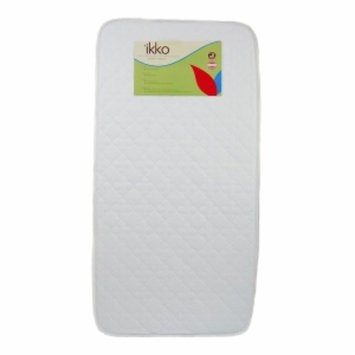 ikko Bassinet Pad, White, Medium, 1 ea