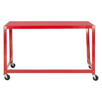 Writing Desk: Safavieh Writing Desk Red