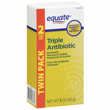 Equate Triple Antibiotic First Aid Ointment
