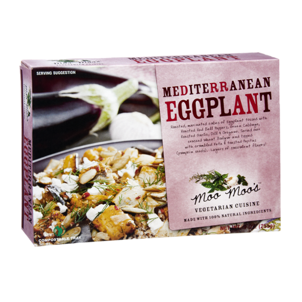 Moo Moo's Mediterranean Eggplant Vegetarian Cuisine