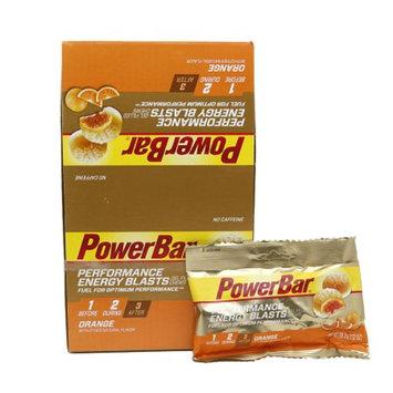 PowerBar Performance Energy Blasts Orange