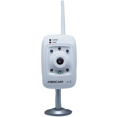 Foscam Fi8909ww Indoor Fixed Wireless IP Camera, White