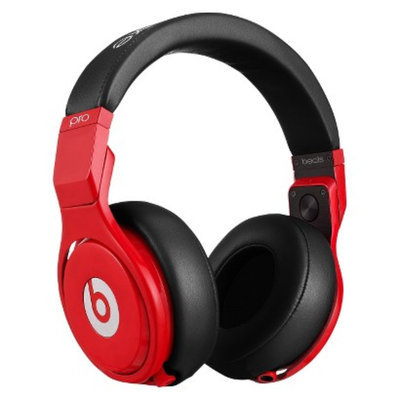 BEATS by Dr. Dre Beats by Dre Pro Lil Wayne On-the-Ear Headphones - Red/Black (BT OV