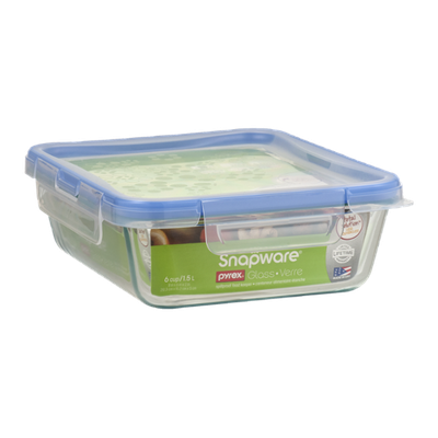 Pyrex Snapware Glass Spillproof Food Keeper 6 Cups