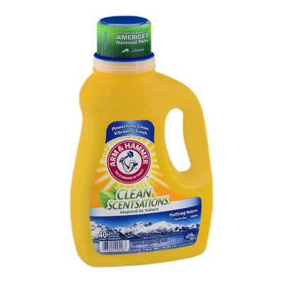 ARM & HAMMER™  Clean Sensations Laundry Detergent Purifying Waters