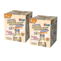Pure Protein Vanilla Creme Shake - 2 Pack (4 Count each)