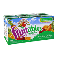 Apple & Eve Fruitables Tropical Orange Fruit & Vegetable Juice Beverage - 8 PK