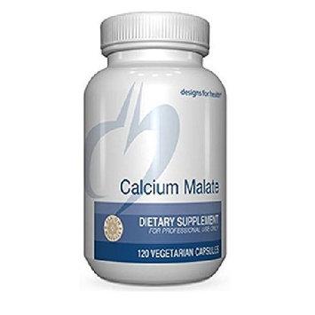 Designs For Health Calcium Malate 250 milligrams 120 capsules