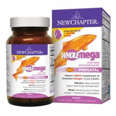 New Chapter WholeMega Prenatal 500mg Fish Oil Softgels