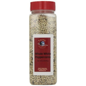 Taste Specialty Foods, Whole White Peppercorns, 22-Ounce Jars (Pack of 2)
