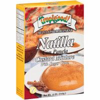 Tropigood! Natilla Custard Mixture with Sugar Cane