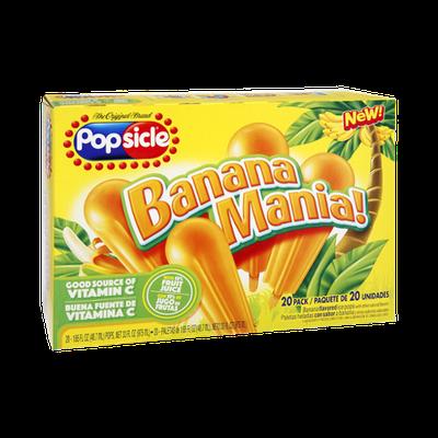 Popsicle Banana Mania - 20 PK