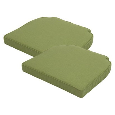 Patio Cushion Set: Smith & Hawken 2 Piece Pistachio (Green) for Side