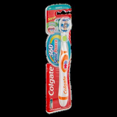 Colgate 360 Sonic Power Soft Powered Toothbrush