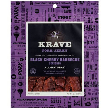 Hershey Krave Black Cherry Barbecue Seasoned Pork Jerky, 2.7 oz