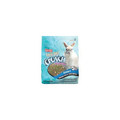 Kaytee Forti-Diet Crunch Rabbit Food, 5-Pound