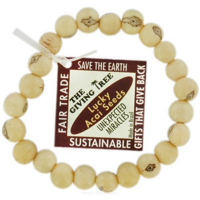 Zorbitz - The Giving Tree Lucky Acai Seeds Bracelet Ivory Unexpected Miracles