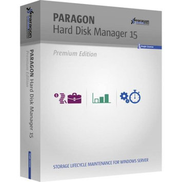 Paragon 299PMEVESB Hard Disk Manager 15 Advanced Server Backup (Email Delivery)