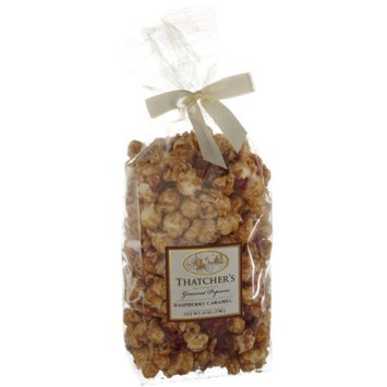 Thatcher's Gourmet Specialties Popcorn, Raspberry Caramel, 6-Ounce Bags (Pack of 6)