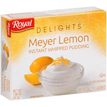 Jel Sert ROYAL DELIGHTS MEYER LEMON PUDDING 12/1.66 OZ
