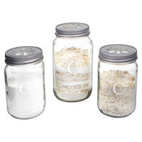 Cathy's Concepts Personalized Mason Jar Sand Ceremony Set with Letter C