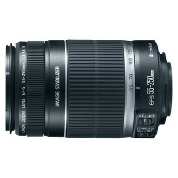 Canon EF-S 55-250-mm f/4.0-5.6 IS Telephoto Zoom Lens for