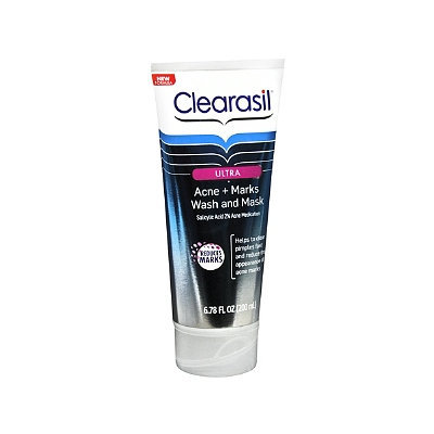 CLEARASIL® Ultra Acne + Marks Wash and Mask
