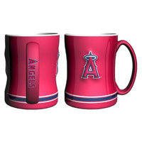 Boelter Brands MLB Angels Set of 2 Relief Coffee Mug - 14oz
