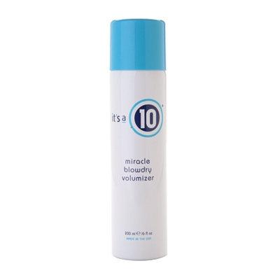 it's a 10 miracle volumizing blowdry spray