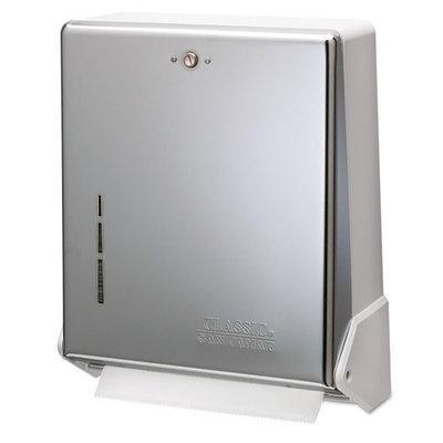 Lagasse Inc. True Fold Metal Front Sturdy Cabinet Towel Dispenser