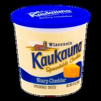Kaukauna Spreadable Cheese Sharp Cheddar