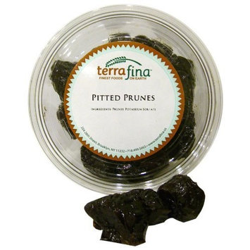 Terrafina Pitted Prunes, 8.5-Ounce Containers (Pack of 16)