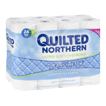 Quilted Northern Bathroom Tissue Unscented - 24 CT