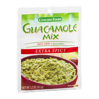 Concord Foods Guacamole Mix Extra Spicy