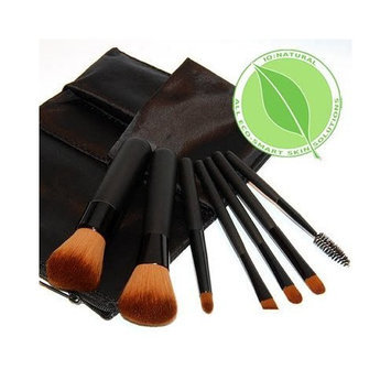 Iq Natural 8pc Mineral Makeup Brush Set Black professional UNDER $22.00!
