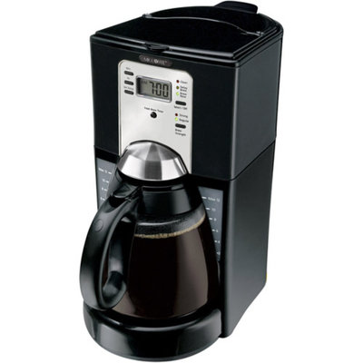 Mr. Coffee FTX Series 12-Cup Programmable Coffeemaker, FTX43-2NP, Black