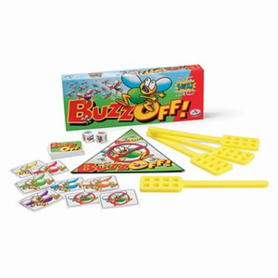 Buzz Off Childrens Game Ages 3-5, 1 ea