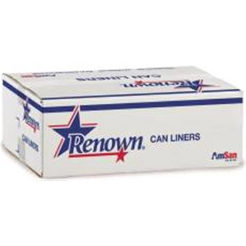 Renown Liner 33X40 33Gl 16Mic Natural 25/Roll 10/CS