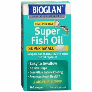 Emerson Healthcare Bioglan Super Fish Oil, Concentrated, Mini Gels, 100 ct