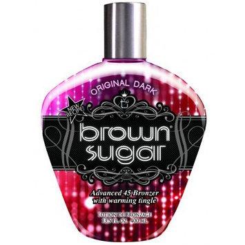 Tan Incorporated - Brown Sugar ORIGINAL DARK Advanced 45 Bronzer with Warming Tingle Tanning Lotion 13.5 oz.