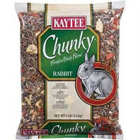 Kaytee Supreme Chunky Daily Blend for Rabbit, 4-Pound